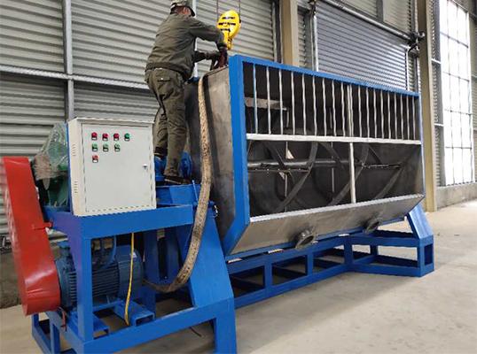 10吨双螺带卧式混合机